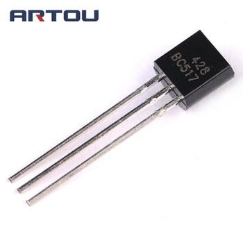 10PCS BC517 NPN Transistor TO-92 цена 2017