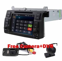 Free Camera DVR 2 DIN ANDROID 5 1 1 CAR DVD PLAYER For BMW E46