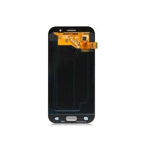 Image 2 - شاشة سوبر amoled لسامسونج A5 2017 شاشة a5 2017 سوبر amoled تعمل باللمس محول الأرقام الجمعية لسامسونج A520 LCD إصلاح أجزاء
