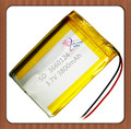 3800mAh 3660124 3.7V polymer battery 3660125 Rechargeable batteries
