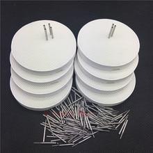 Стоматологический лабораторный с ячейками круглые обжиговые лотки с металлическими булавками Зубной Техник поставки