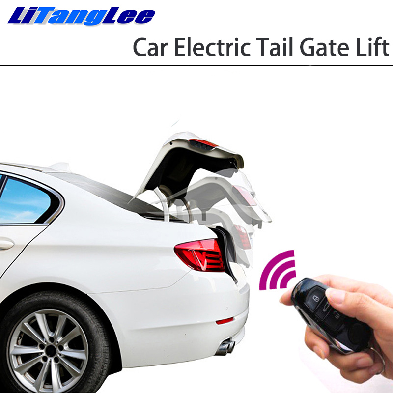LiTangLee Car Electric Tail Gate Lift Tailgate Assist System For Audi A4 B8 8K 2008~2016 Remote Control Trunk Lid