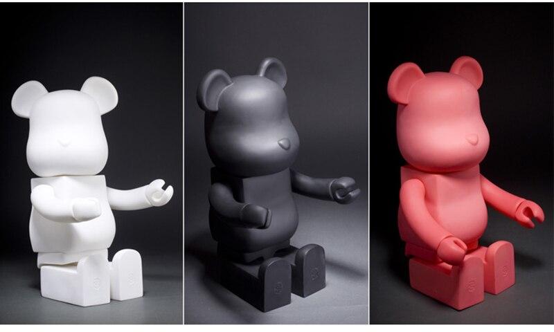 21 pouces 52cm 700% Bearbrick Be @ rbrick bricolage mode jouet PVC figurine à collectionner modèle jouet décoration cadeaux de noël faveurs
