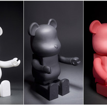 21inch 52cm 700% Bearbrick Be@rbrick DIY Fashion Toy PVC Action Figure Collectible Model Toy Decorat