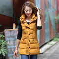 Women Vest New Leisure Long Slim Candy Color Plus Size Trun-Down Collar Solid Color Vests Outerwear Colete Feminino MZ866