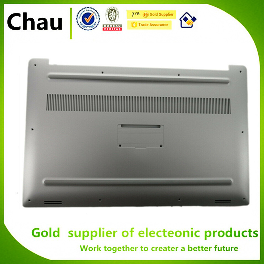 CHAU Bottom Case Cover For Dell XPS 15 9560 <font><b>9570</b></font> Precision M5520 0GHG50 GHG50 Silver image