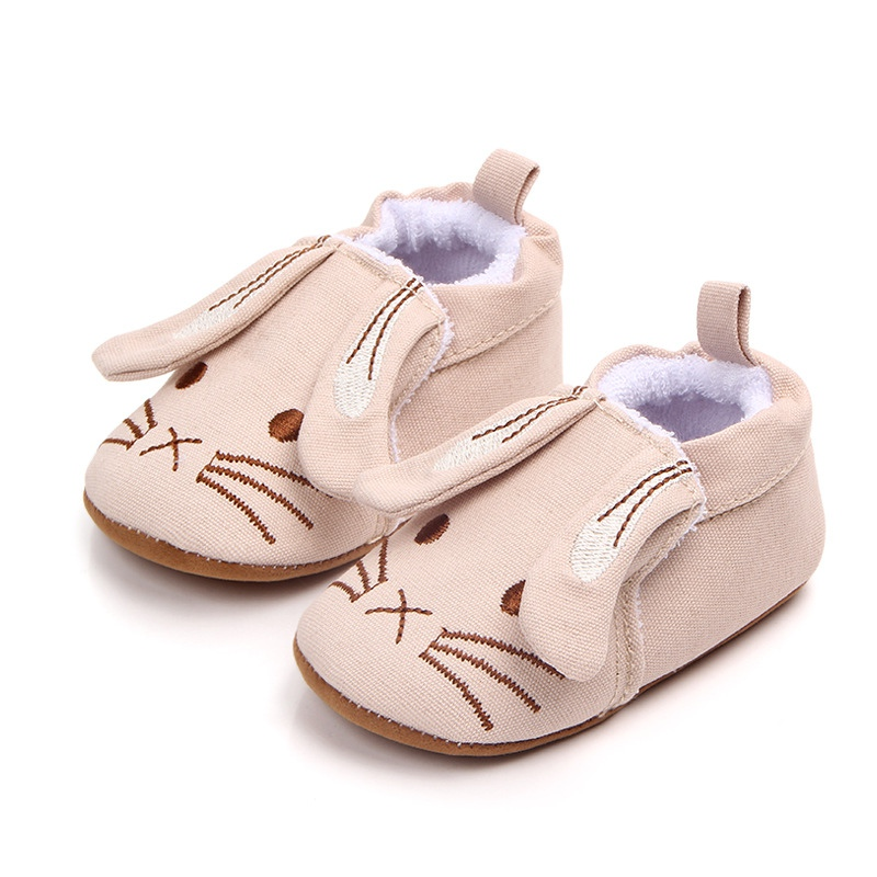 Hot Spring Summer Newborn Toddler Shoes Cute Cartoon Pattern Baby Boy Shoes Cotton Comfort Baby Girl The First Walker