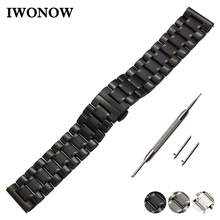 Stainless Steel Watch Band 20mm 22mm for Fossil Butterfly Bu