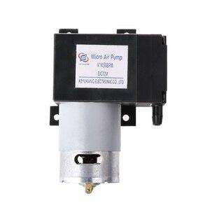 Image 2 - 12V Mini Vacuum Pump 8L/min High Pressure Suction Diaphragm Pumps with Holder  C