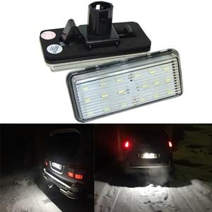 2pcs Car LED Number License Plate Lights 12V for Toyota Land Cruiser Prado 120 Land Cruiser 200 Lexus LX470 570 Error Free(China)