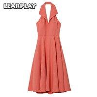 La La Land Mia Pink Dress Cosplay Costume Emma Stone Party Evening Dresses Backless Women Dress