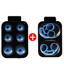 5Pairs Silicone Eartips Ear Bud Replacement Earplugs Set for Beats x Urbeats Tour Ibeats In-ear Headphones Ear Wing