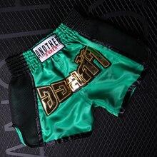 Мужские боксерские трусы mma с сублимированным принтом, шорты для фитнеса, кикбоксинг, муай-тай, шорты для спортивного зала