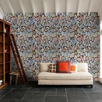 Modern 3d Stone Wallpapers tv Background Decorative Wallpaper Roll Living Room Bedroom PVC Mural Wall Paper Self Adhesive ZE086
