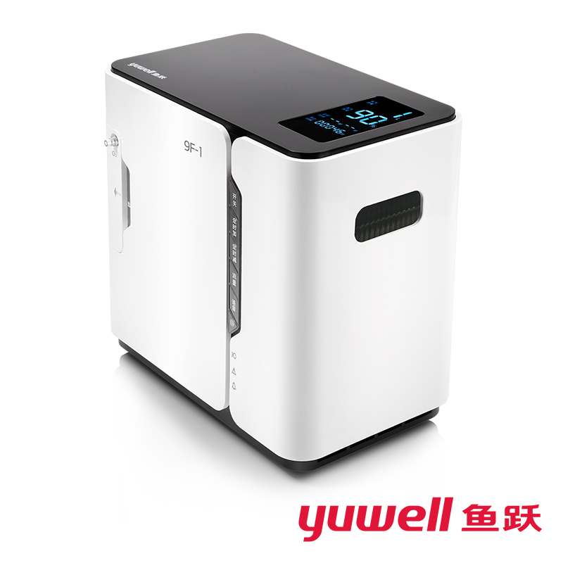 Yuwell Oxygen Concentrator Continuous Anions Generation 1L Oxygen Machine Medical Instruments Oxygen Generator Home Care healthcare oxygen concentrator continuous flow mini oxygen generator for outdoor home medical use moveable o2 concentrator