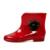 Hee grand 2017 novo da flor da camélia das mulheres botas de chuva sapatos de borracha mulheres bota xwx1253