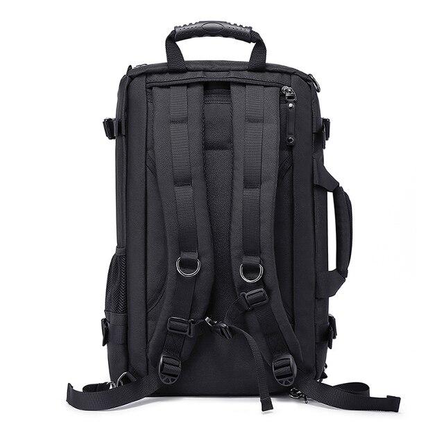 MAGIC UNION Multifunctional Backpack For Men 17.3 inch Laptop Bag Large Travel Bagpack 3 in1 Mochila Hombre Shoulder Bag 4