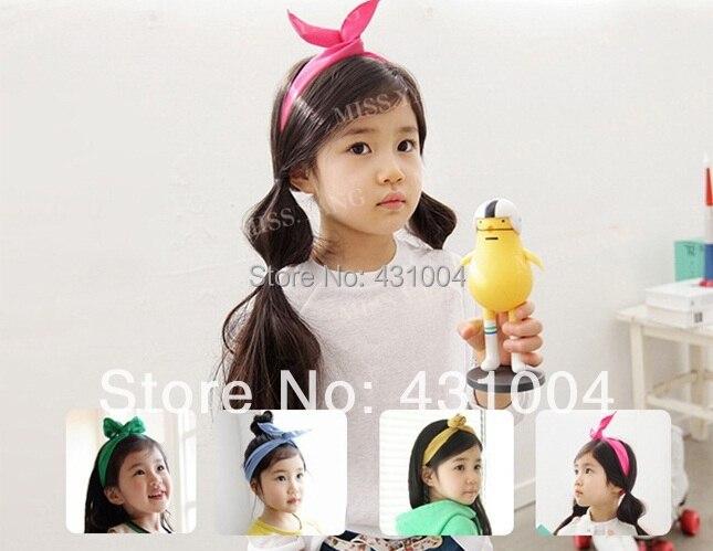 Baby Nette haarschmuck Baby-kaninchen-häschen-ohr-kapuzenoberteile DIY stirnband kinder candy farbe Stirnbänder prinzessin Kinder Headwear