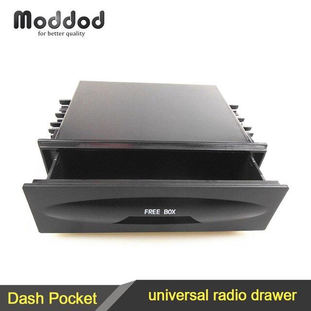 Один Дин Универсальный радио CD и установка карман стерео тире установка Монтажная отделка фасции комплект ящик