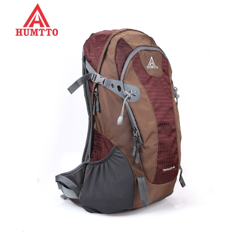 Top Quality HUMTTO Hiking Backpack Bag Travel Daypack Outdoor Sport Backpack Camping Pack Trekking Rucksack for Men Women 40L women and men 40l waterproof backpacks travel bag top quality army backpack mountain bag hiking backpack free shipping