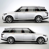 World Datong Racing Sport Stripes For RANGE ROVER SPORT HSE AUTOBIOGRAPHY Levinson Auto Body Whole Decal Sticker