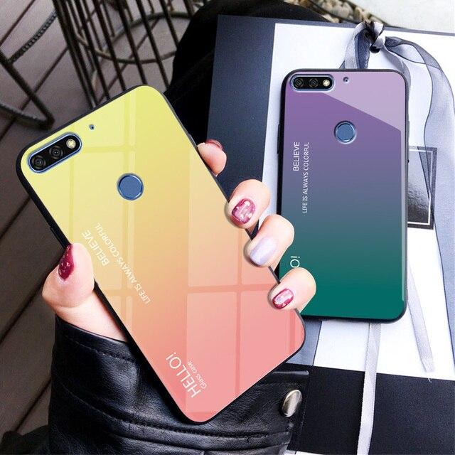 uk availability 51aa9 3d7e1 US $4.79 |Huawei Honor 7C Case Cover 5.7