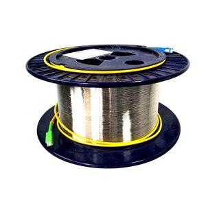 High Quality SC 1KM 9/125 OTDR Singlemode Single bare fiber OTDR measuring Optical Fiber Cable 1KM OTDR test optical fiber reels