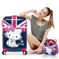 20,24Inch Women Hello Kitty Suitcase,Girls Hello Kitty Trolley bag,Spinner Rolling Luggage hello kitty luggage sets