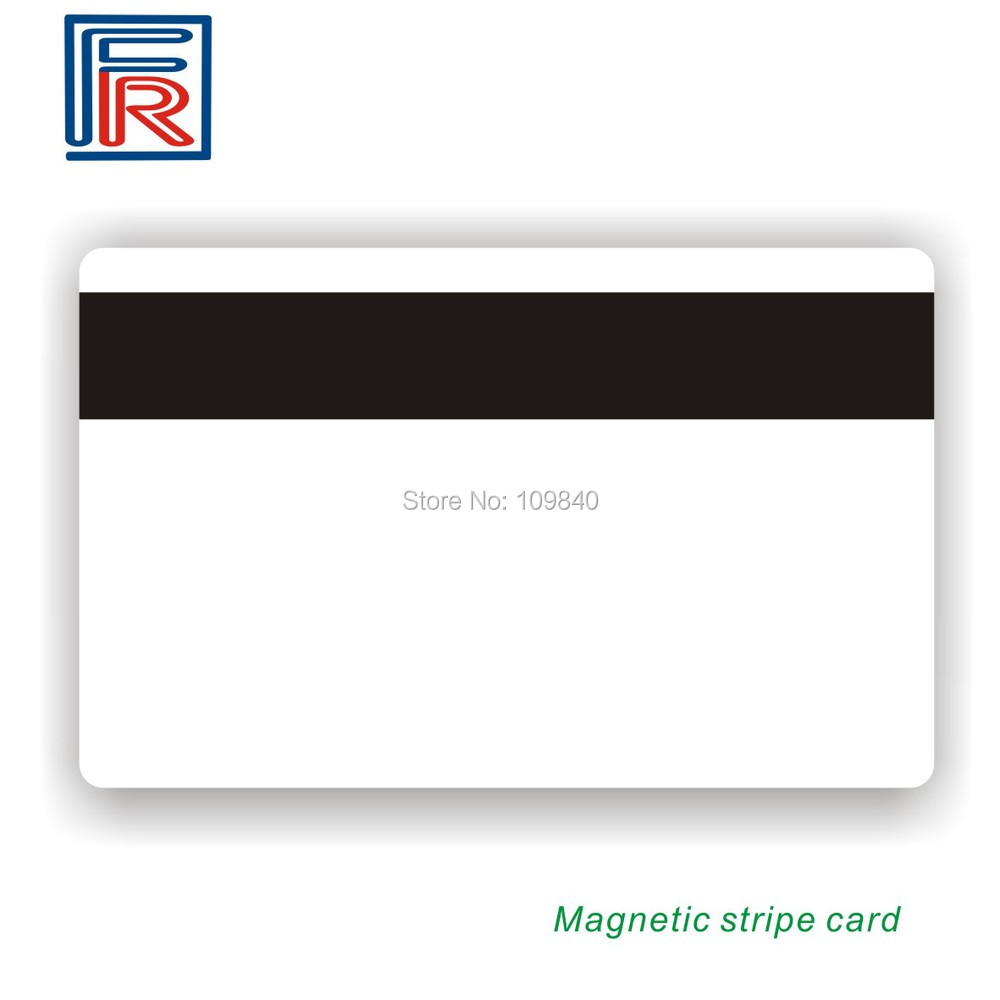 2016 Hot High Quality Hi-co Magnetic Swipe card ISO Blank white cards printable Track 1,2,3 100pcs lot printable pvc blank white card no chip for epson canon inkjet printer suitbale portrait member pos system