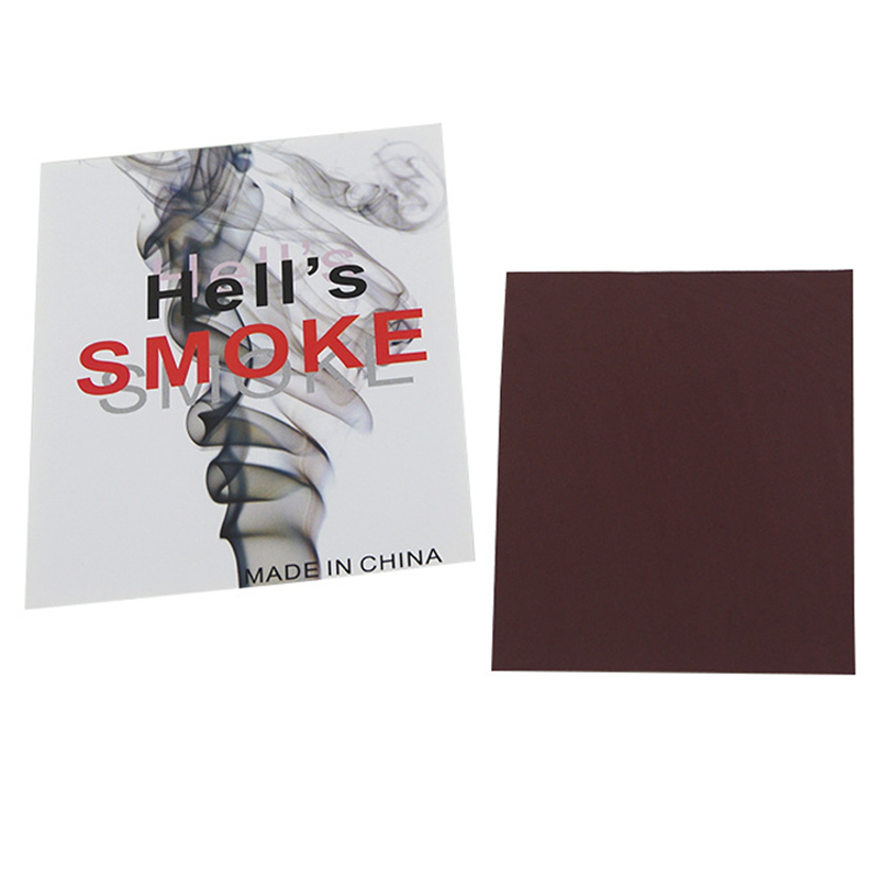 Magic Smoke From Finger Surprise Prank Joke Hell Smoke Funny Mystical Tour De Magie Tricks Toys for Children Magicians Prop 1Pc