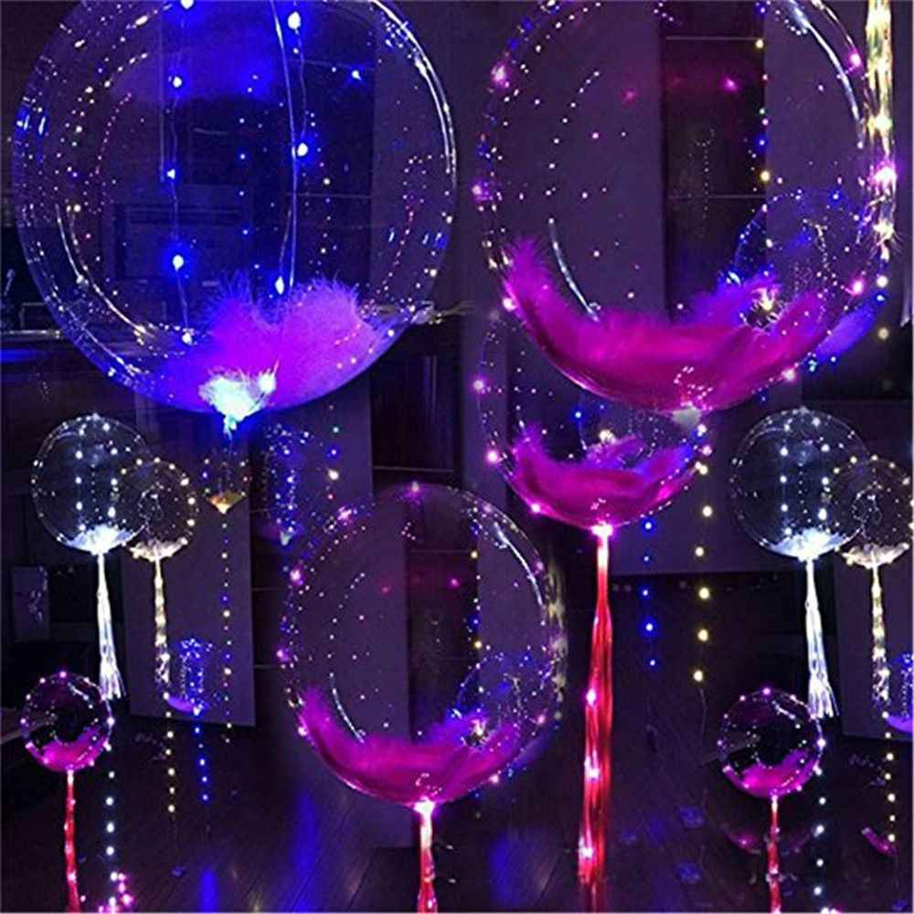Bobo Balloons Birthday Party Decorations Kids Party Decoration Ballon with 3m LED Stripe Wire