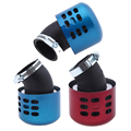 Metal Motorcycle Air Filter Air Pods 35MM/39MM Universal Motorbike Air Cleaner Intake Filter Red/Blue Filtro De Ar Clamp-on Air