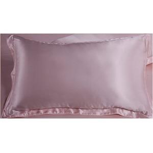 Image 2 - الحرير الفراش مجموعة 3 قطع 19 ملليمتر سلس جديد 100% التوت الحرير لحاف غطاء أكسفورد المخدة متعدد الألوان متعددة حجم ls030019006