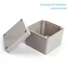 цена на Manufacture supply  ABS plastic IP66 Waterproof enclosure  use as junction box 125*125*100mm