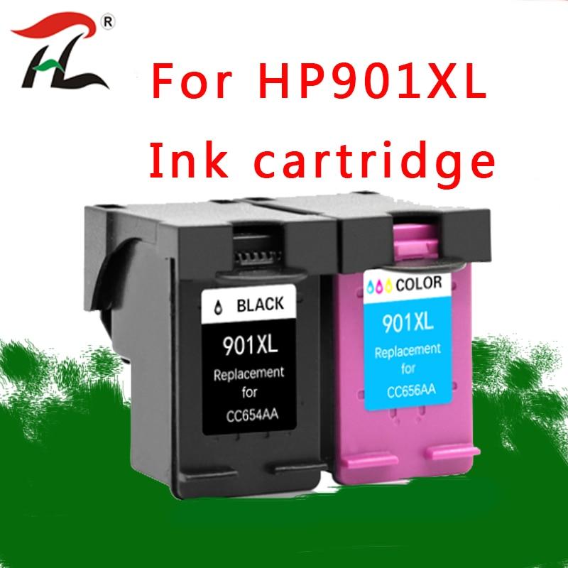 901XL Cartridge Compatible For HP901XL  Hp 901 Xl Hp901 Ink Cartridge For Officejet 4500 J4500 J4540 J4550 J4580 J4680 Printer