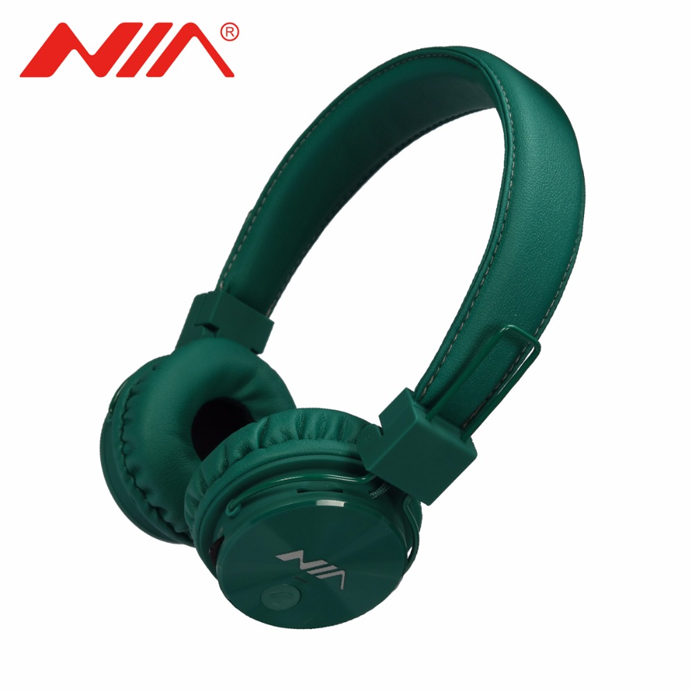 NIA X3 Original Wireless Headphone Bluetooth Stereo fone de ouvido bluetooth with Mic Support TF Card FM Radio Portable Earphone aaliyah new bluetooth headphone wireless auriculares with mic support tf card fm radio stereo headset for computer iphone xiaomi