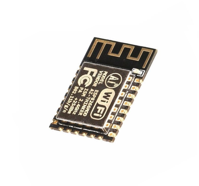 1PCS ESP-12F (ESP-12E upgrade) ESP8266 Remote Serial Port WIFI Wireless Module ESP8266 4M Flash ESP 8266 official doit mini ultra small size esp m2 from esp8285 serial wireless wifi transmission module fully compatible with esp8266