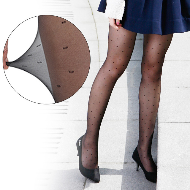 Pantyhose Thin Seductive Party Dot Lady Lady Stockings 4