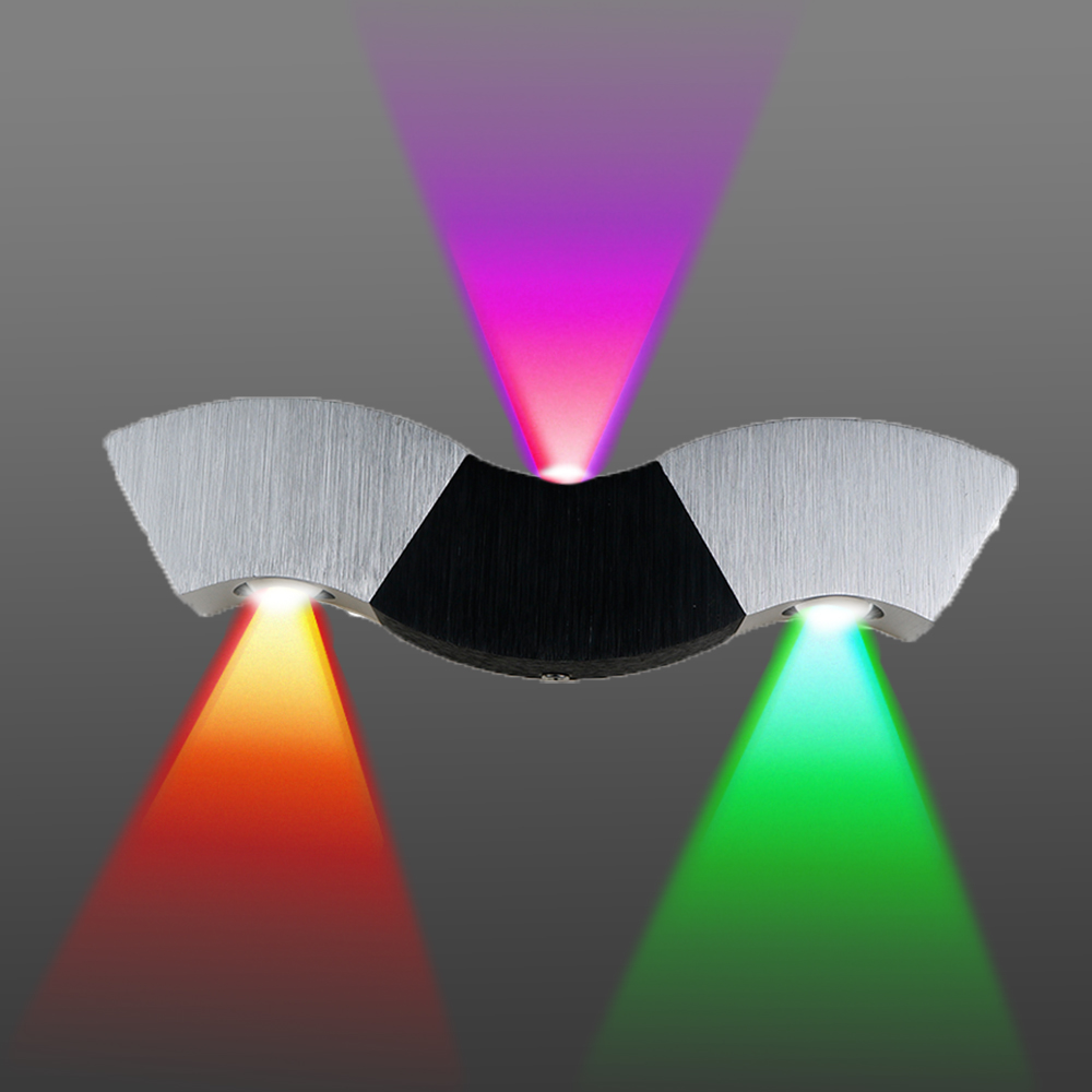 Image 4 - Led Wall Lamp Light 3W 9W Aluminum Sconces Wave Shape Ceiling For Hall Bedroom Corridor Restroom Bathroom 110V 220V JQwall lamp lightled wall lampwall lamp -