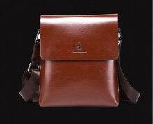 new  fashion plaid casual  men messenger bags PU leather handbags man  business shoulder bag   LJ-316