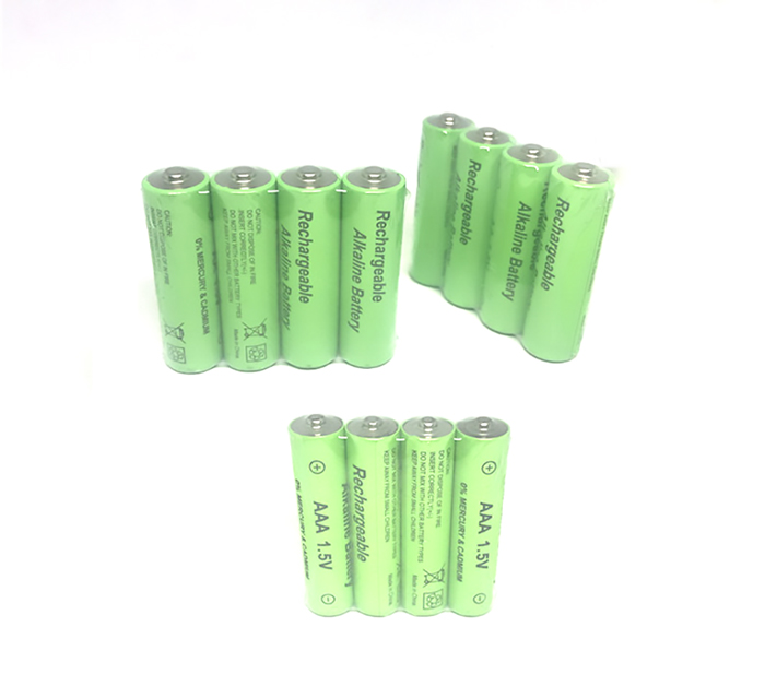 Cncool 8pcs/lot New Brand AAA 1800mAh Alkaline 1.5 V Rechargeable Battery Cell For  Led Flashlight Torch Light Free Shipping
