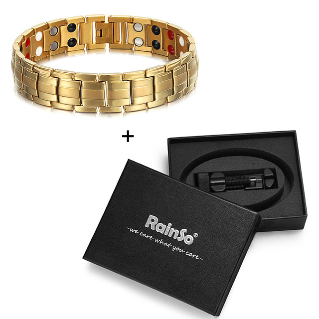 HTB1F2R XinrK1Rjy1Xcq6yeDVXaJ - Rainso Powerful High Gauss Magnetic Therapy Bracelet for Pain