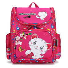 Grade 1-3 Children School Bags Orthopedic Backpacks Waterproof Satchel Kids Cartoon Owl School Bags for Girls Mochila Escolar цена