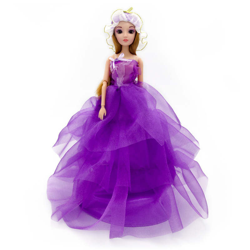 Cute-Pretty-Doll-Toys-High-Quality-Silicone-Movable-Joint-Body-Princess-Wedding-Dress-Dolls-Best-Gift-for-Girl-Kids-13-Colors-4
