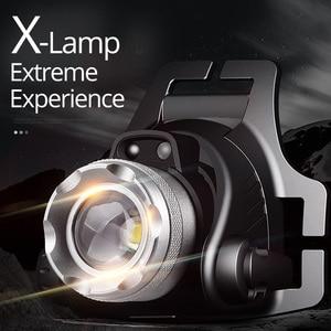 Image 3 - KÍNH BƠI SHENYU TRÁNG Cảm Biến Hồng Ngoại LED Sạc Phóng To Quay Siêu Sáng Đèn Pin Cree XML T6 L2 Đèn Pha Đi Bộ Đường Dài Cắm Trại