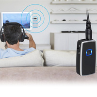 Wireless 2 In 1 Bluetooth Transmitter And Receiver Adapter With 3 5mm Output Connect Headphones TV