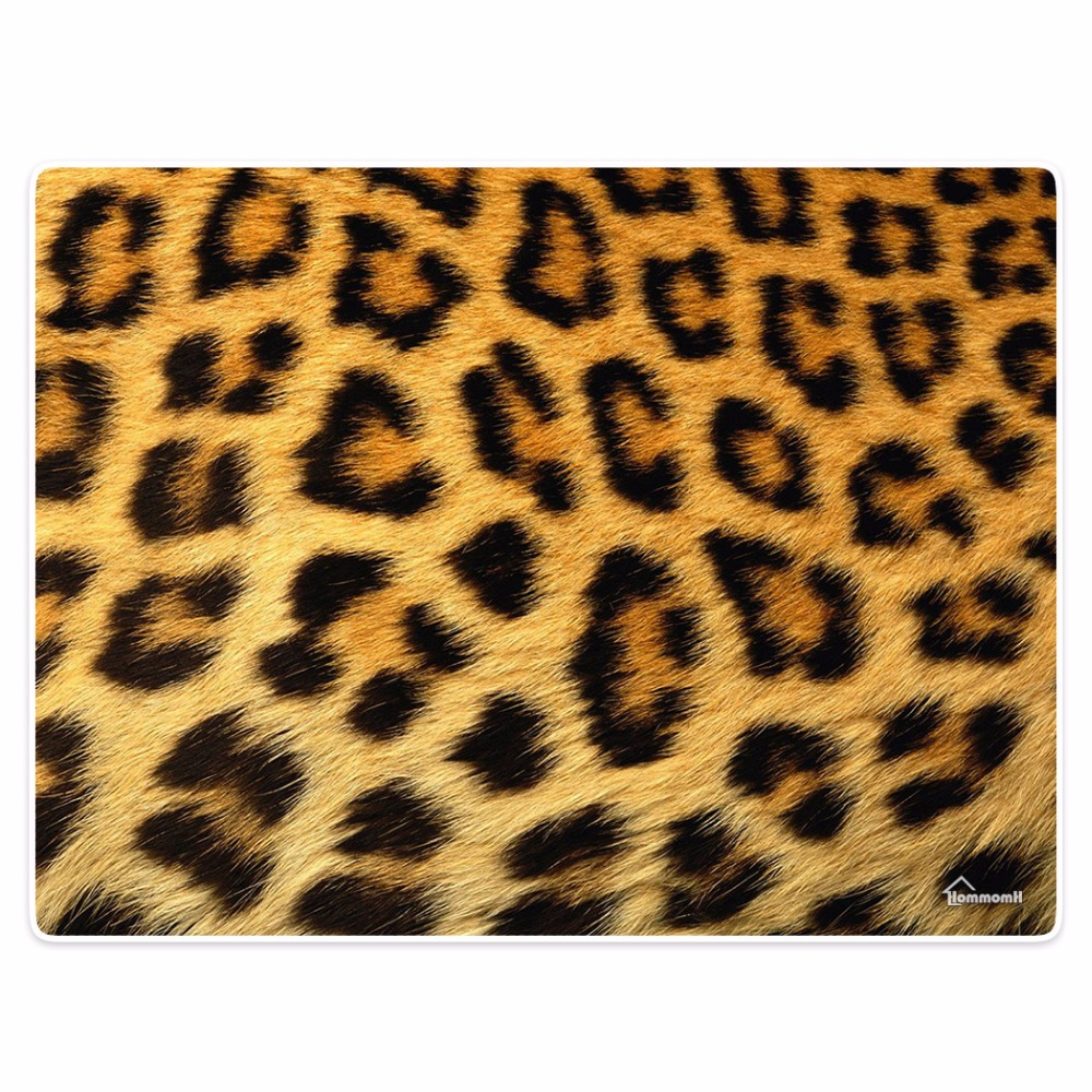 Одеяло комфорт тепло Мягкие плюшевые легко Средства ухода за мотоциклом машинная стирка Leopard волос камуфляж текстуры диван-кровать Пледы М...