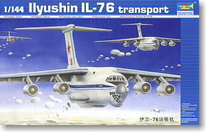 US $56 0 5% OFF TRUMPETER 1/144 scale model 03901 Il 76