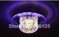 LED 크리스탈 천장 조명기구 복도 천장 조명 사용