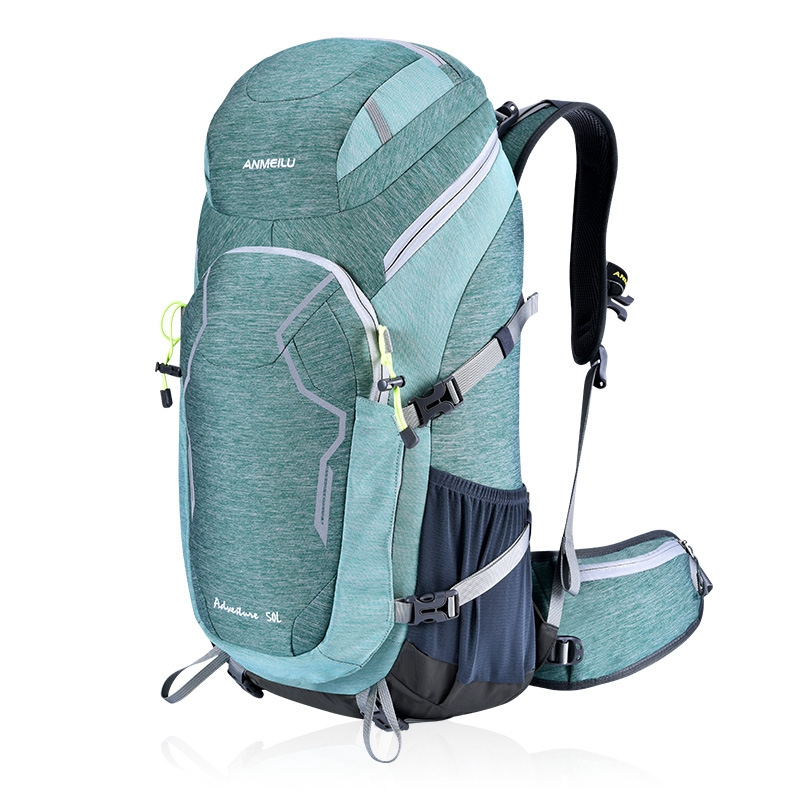 ANMEILU Men Women Travel Backpack 50L Waterproof Bicycle Backpack Outdoor Camping Hiking Climbing Bags-in Climbing Bags from Sports & Entertainment    1